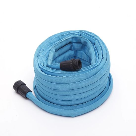 "1/2"" Heavy Duty Flat Hose. with Plastic or Metal Couplings."