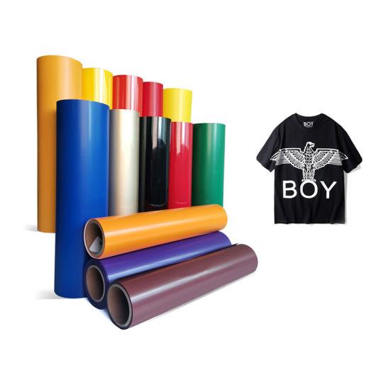 Korea Quality Custom Textile PVC Htv Cutting Film Cut Thermal Press Heat Transfer Vinyl for Clothing