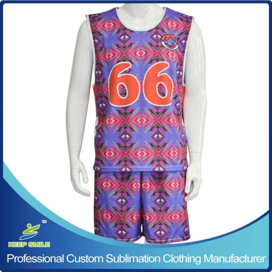 Custom Sublimation Sports Garment for Lacrosse Uniform