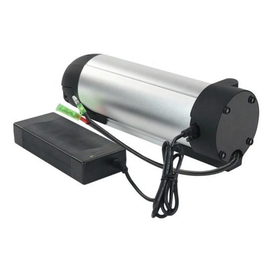 36V 10.4ah 10s4p Bullet Trains Style Lithium-Ion E-Bike Down Tube Li-ion Battery Water Bottle Down Mounted Shark Battery