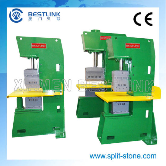 Stone Guillotine Machine for Making Wall Stones pictures & photos