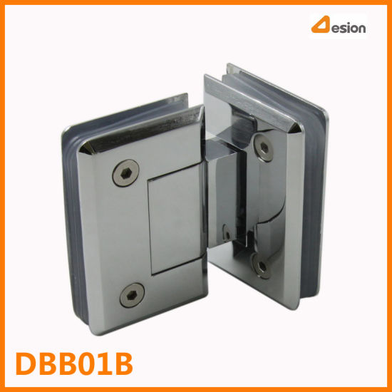 180 Degrees Zinc Alloy Show Door Hinge with Bright Chrome pictures & photos
