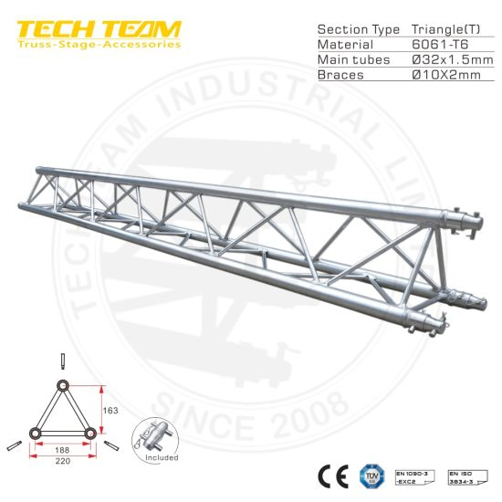 China Aluminum Flat Triangle Square Tube Truss Structure Steel Roof Truss Design China Stage Lighting Truss Frame And Decorate Truss Price
