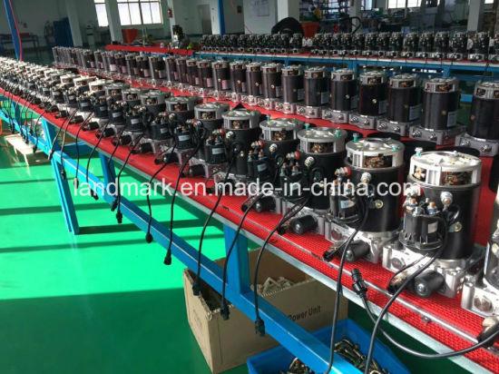 China Hydraulic Dump Trailer Pump - China DC 12V Hydraulic