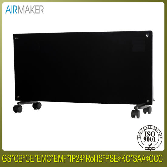 Natural Electric Convection Curved Tempered Glass Panel New Heater Manufacture pictures & photos