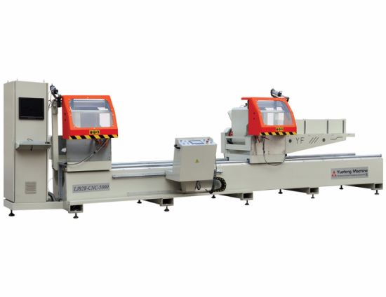 CNC Arbitrary Angle Double Mitre Saw for Aluminum Profiles