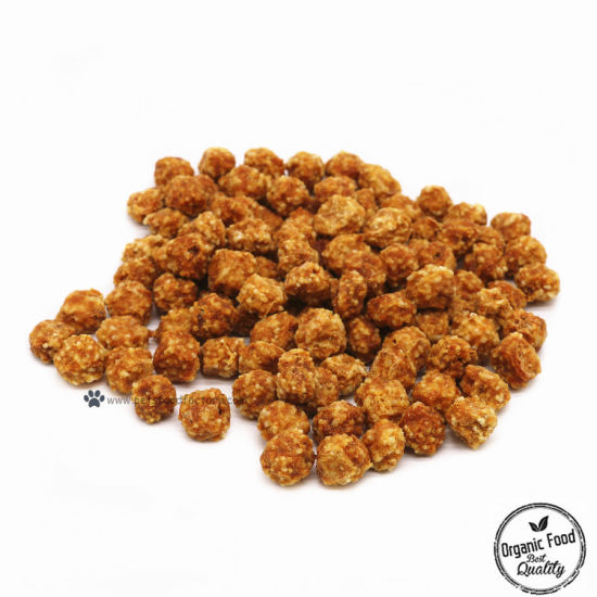 China Homemade Pet Food Chicken Jerky Ball With Rice Dog Treats