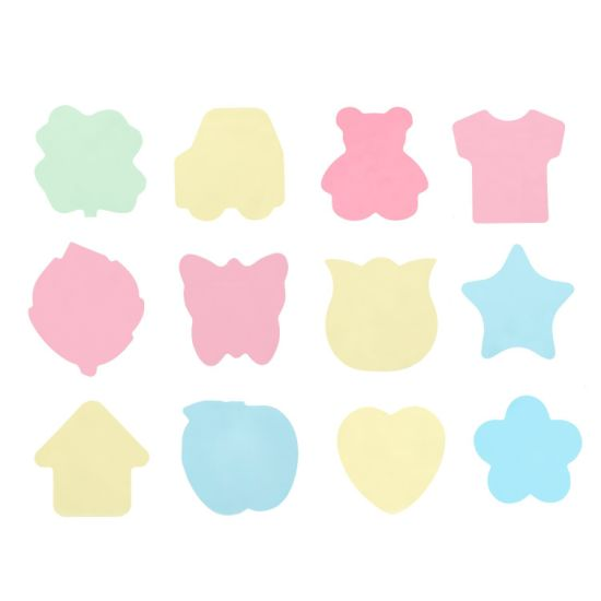 china sticky notes in different shapes colorful super sticky notes