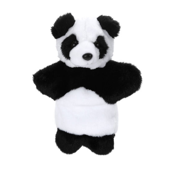 High Quality Plush Puppet Panda Hand Puppet for Adult