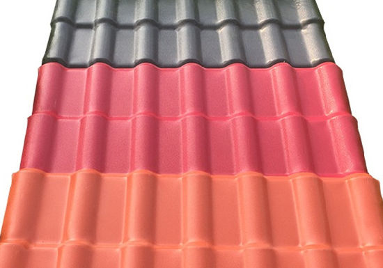 Reinforced Synthetic Resin Tile/PVC Roofing/Building Material