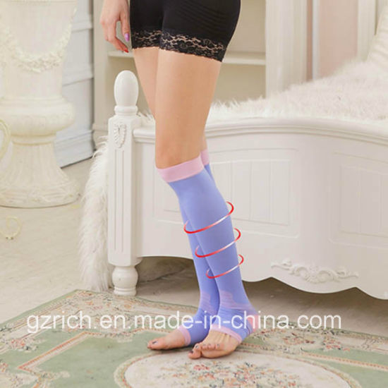 680d Anti Varicose Leg Socks Stockings pictures & photos