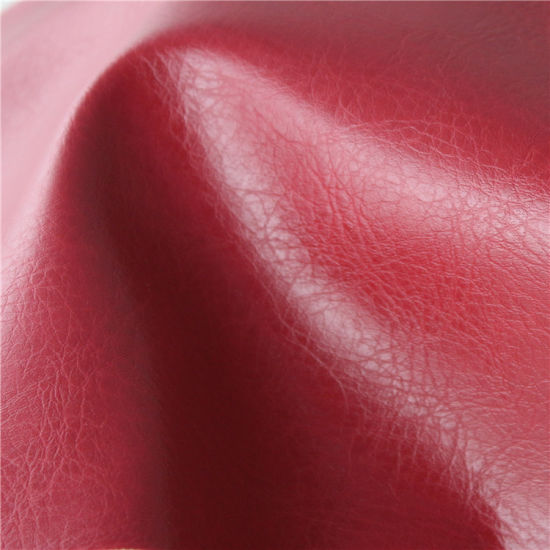 Solvent-Free Synthetic PU Furniture Leather for Sofa, Boat Seat Cover pictures & photos