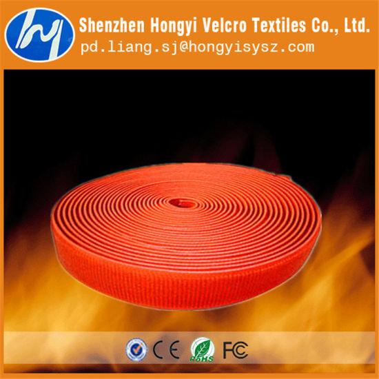 SGS Approved Reusable Flame Retardant Hook & Loop