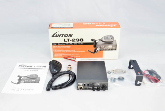 10 Meter Am/FM CB Radio New Lt-298 Low Price 27MHz CB Radios pictures & photos