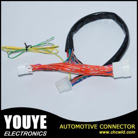 China Custom Made Automotive Motorcycle Wire Harness - China
