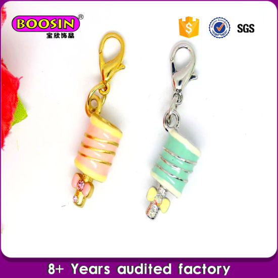 Custom Metal Made Emoji Ice Cream Charm #19498 pictures & photos