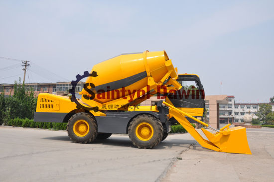 Concrete Batching Vehicles with Excavation, Loading and Transport Systems