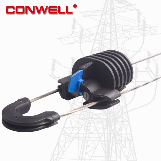 China FTTH Accessories Plastic Cable Drop Wire Clamp - China Wire ...