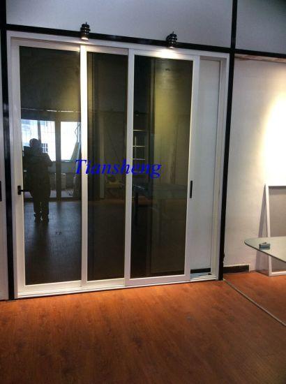 China Aluminiumaluminum Double Glazing Patio Exterior Glass Sliding