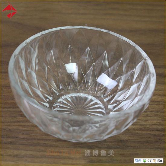 Fresh Fruit Solid Glass Salad Bowls, Decorative Glass Bowls