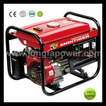 Portable Small 2.5kVA 6.5HP Gasoline Petrol Generator pictures & photos