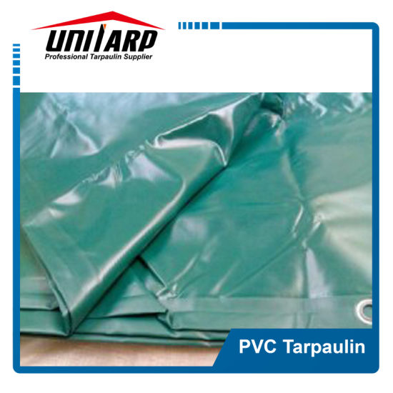 Hot Sale Green PVC Tarpaulin Truck Cover Agriculture Cover