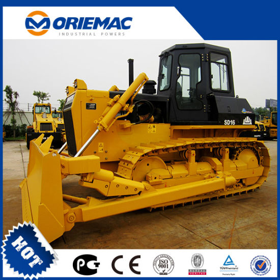 Shantui Hot Sale 160 HP Mini Crawler Dozer/Bulldozer Price D16 pictures & photos
