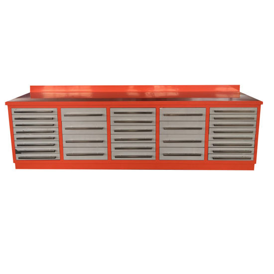 Heavy Duty Metal Workbench/Tool Cabinet With 30 Drawers (MW01 3)