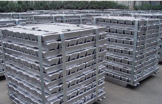 High Purity Primary Aluminium Ingots 99.99% / 99.9% /99.7%