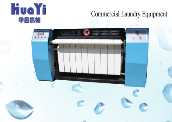 Professional Bedsheet Pressing Ironing Machine Laundry Flat Ironer