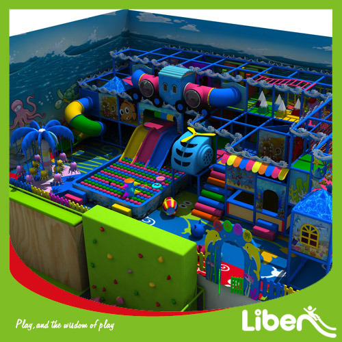 New Multi-Function Children Indoor Play Center pictures & photos