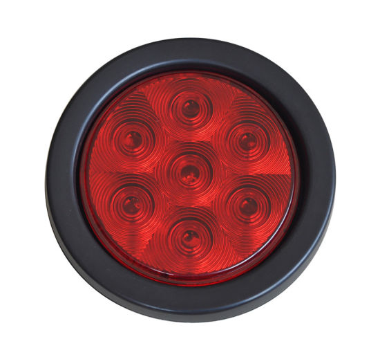 "LED 4"" PVC Rubber Round Truck Light (TK-TL041) pictures & photos"