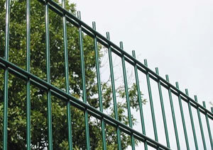 Galvanized Double Wire Fence for Garden/School/Stadidum pictures & photos