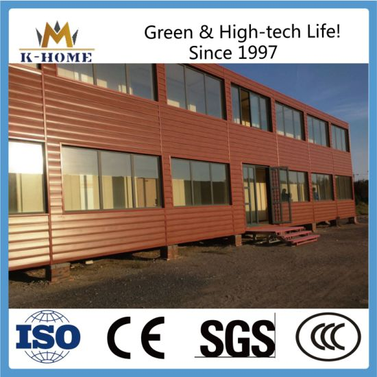 Refined Decoration Luxury Container House Hotel with Exterior Wall Decorative