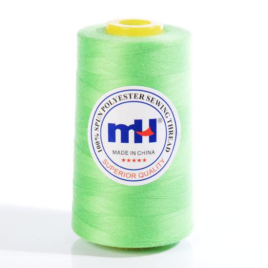 High Quality 100% Spun 40 2 5000y Polyester Sewing Thread