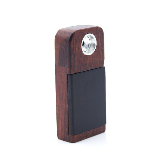 China 2018 Gunter Lighter Renovate Durable Wooden Tobacco