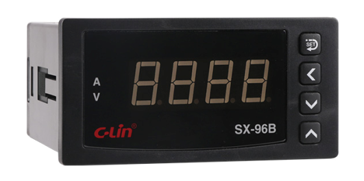 Digital Current/Voltage/Frequency Measuring Meter Sx-96b Series