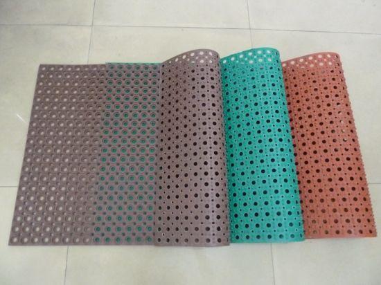 Bathroom Rubber Mat/Anti Slip Door Rubber Mat