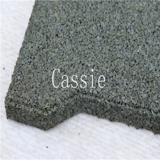 Colorful Rubber Paver/Square Rubber Tile/Wearing-Resistant Rubber Tile pictures & photos