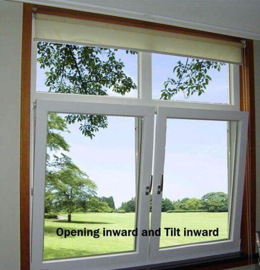 Inward Opening Aluminum Awning Window