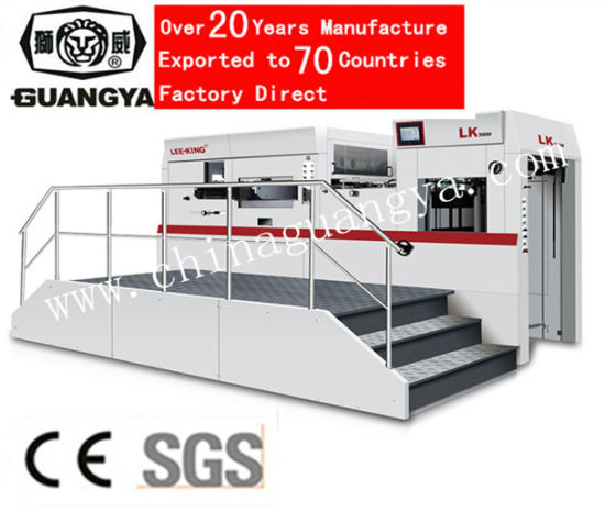 High Speed Automatic Die Cutting Machine with CE Approved 1060*770 Mm (LK106M) pictures & photos