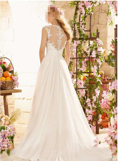 2016 off-Shoulder A-Line Bridal Wedding Dresses Wd6803 pictures & photos
