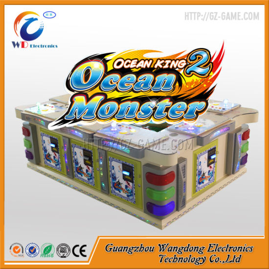 Ocean Monster Game Arcade Shooting Fish Hunter Machine for Casino pictures & photos