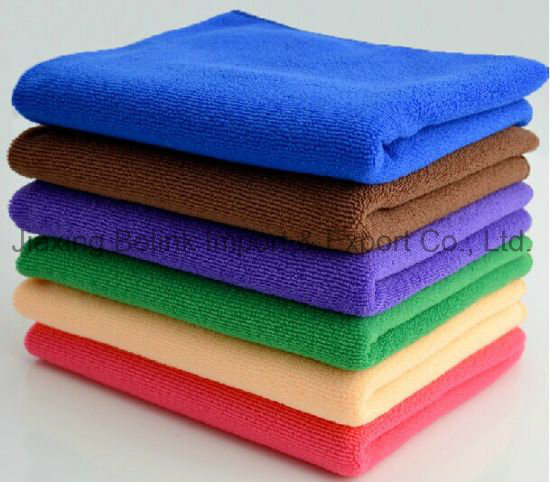 Microfiber Cleaning Cloth Microfiber Cleaning Towel pictures & photos