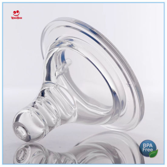 Wide Caliber Silicone Baby Bottle Nipples pictures & photos