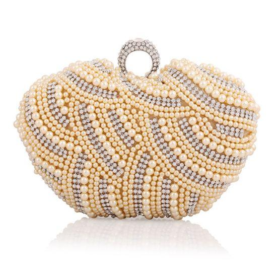 52b2df9f24b High Quality Stylish Fashion Women Bag Designer Pearl Clutch Handbag. Get  Latest Price