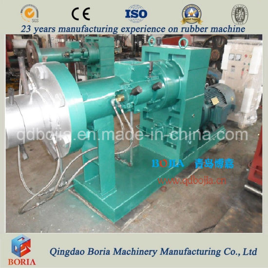 Hot Feeding Rubber Extruder Machinery/Rubber Extrusion Machine pictures & photos