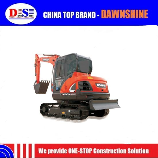 Doosan Dx60-9cg 5 Ton Crawler Mini Excavator for Sale pictures & photos