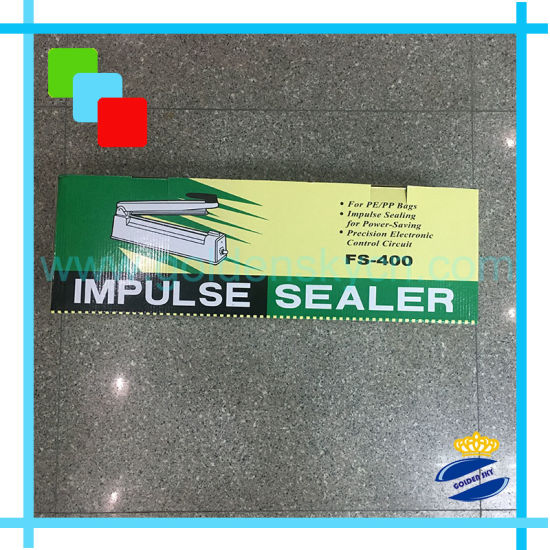 "16"" Iron Body Impulse Heat Sealer Machine for PP Bag, PE pictures & photos"
