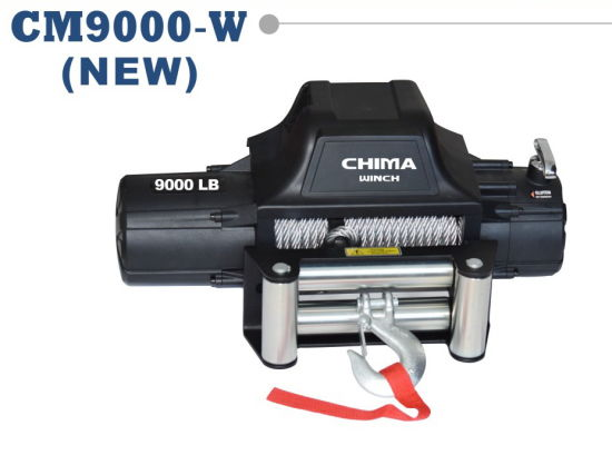 New Style 4X4 Electric Winch 9000lb Pull Capacity 12VDC.